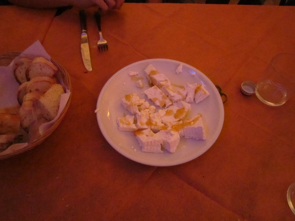 Ricotta with Honey