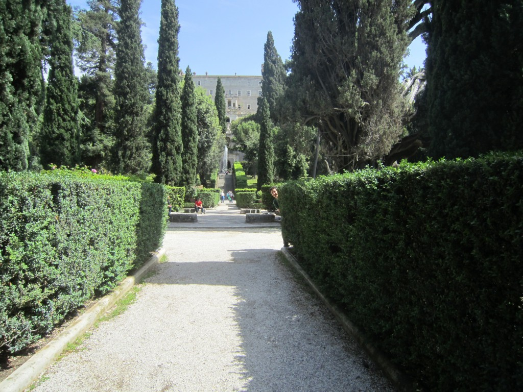 Villa D'Este, Tivoli, Italy. Outside of Rome