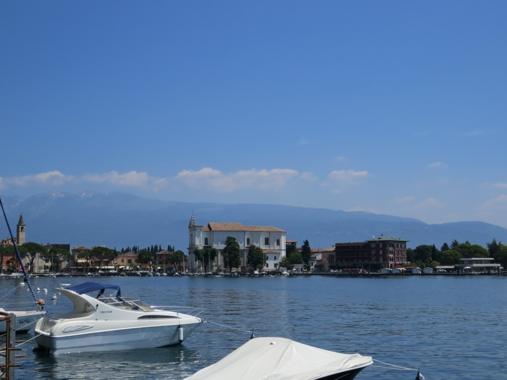 Sailboats at Lake Garda