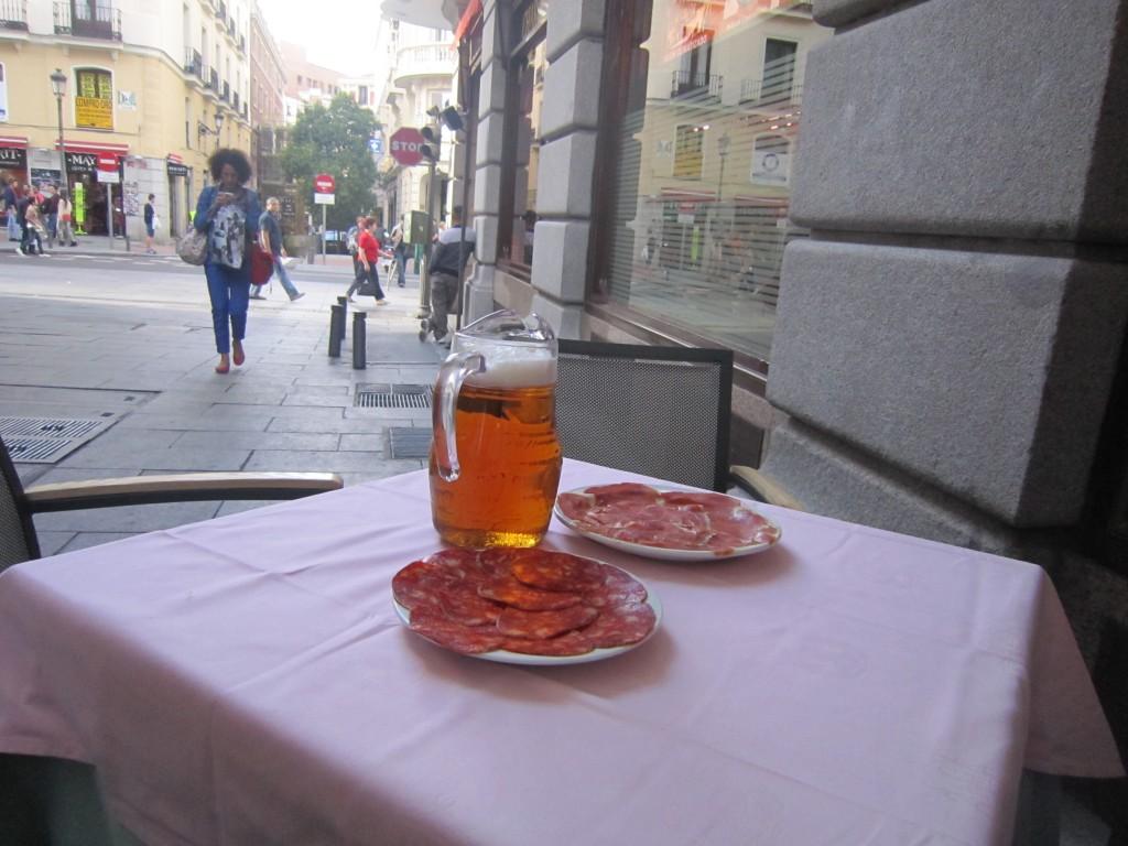 Museo del Jamon (ham museum) Madrid Spain
