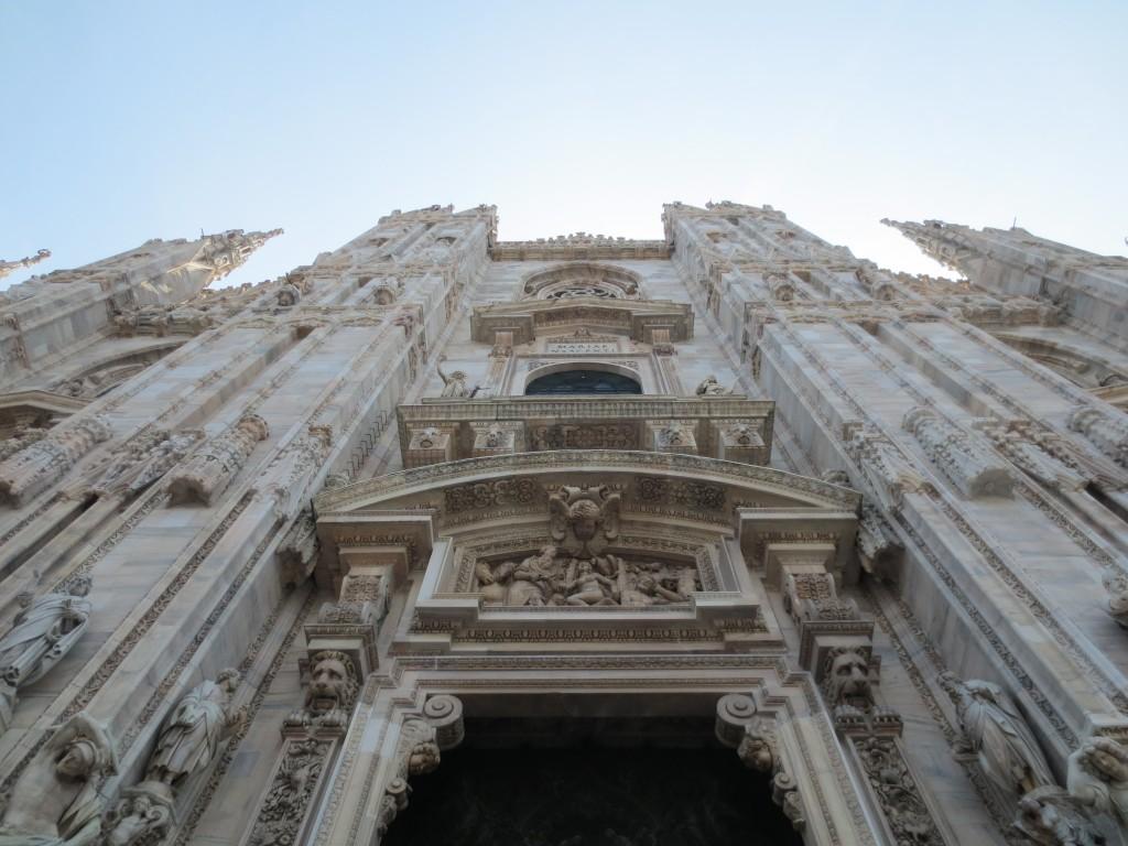 Duomo, Milan. Facade shot