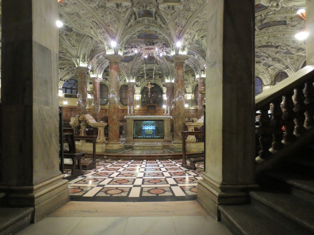 Crypt in the Duomo of Milan