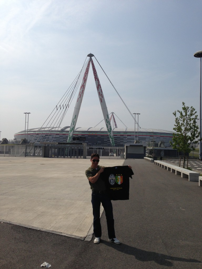 Stadium in Turin, Italy