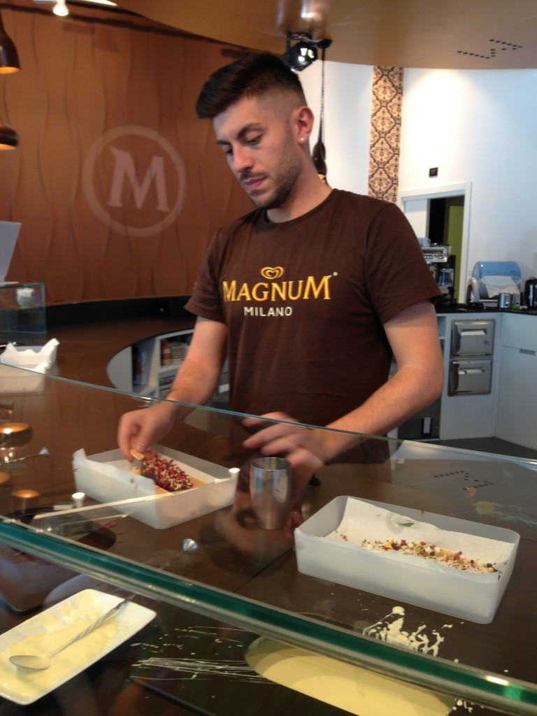 Magnums in Milan