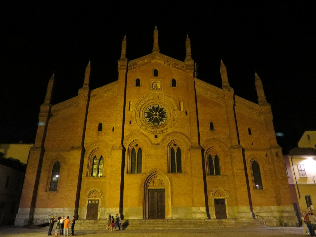 The church of St. Augustine in Pavia