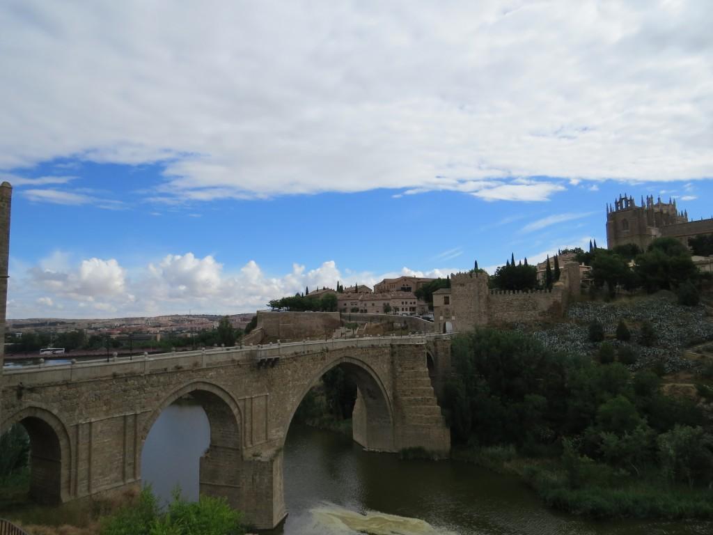 Going into Toledo, Spain