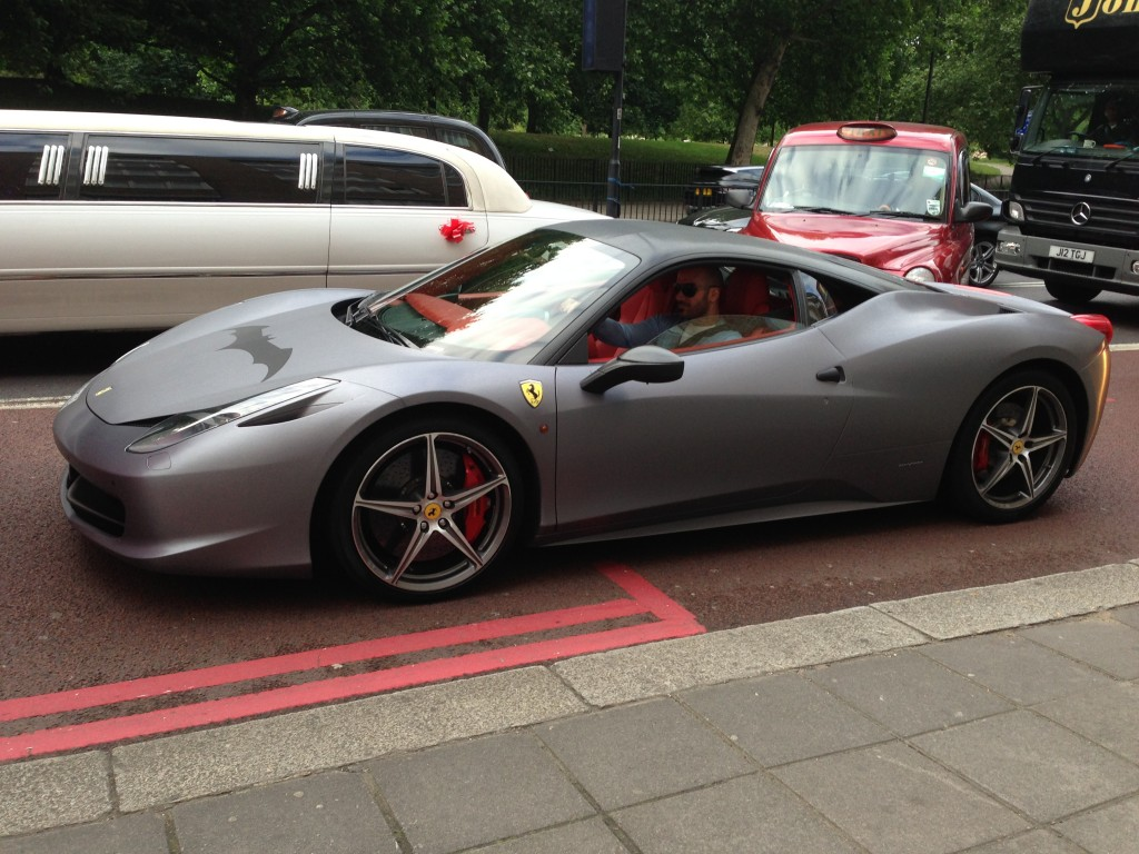 Ferrari 458 Italia (the BatMobile!)