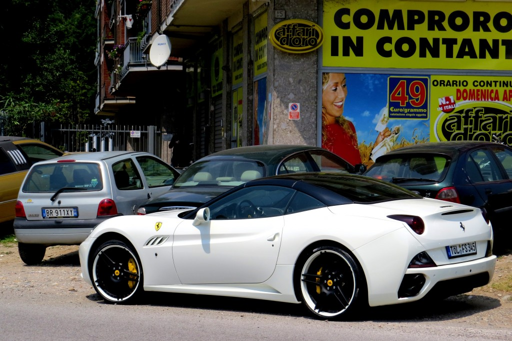 Ferrari California (in Milan)