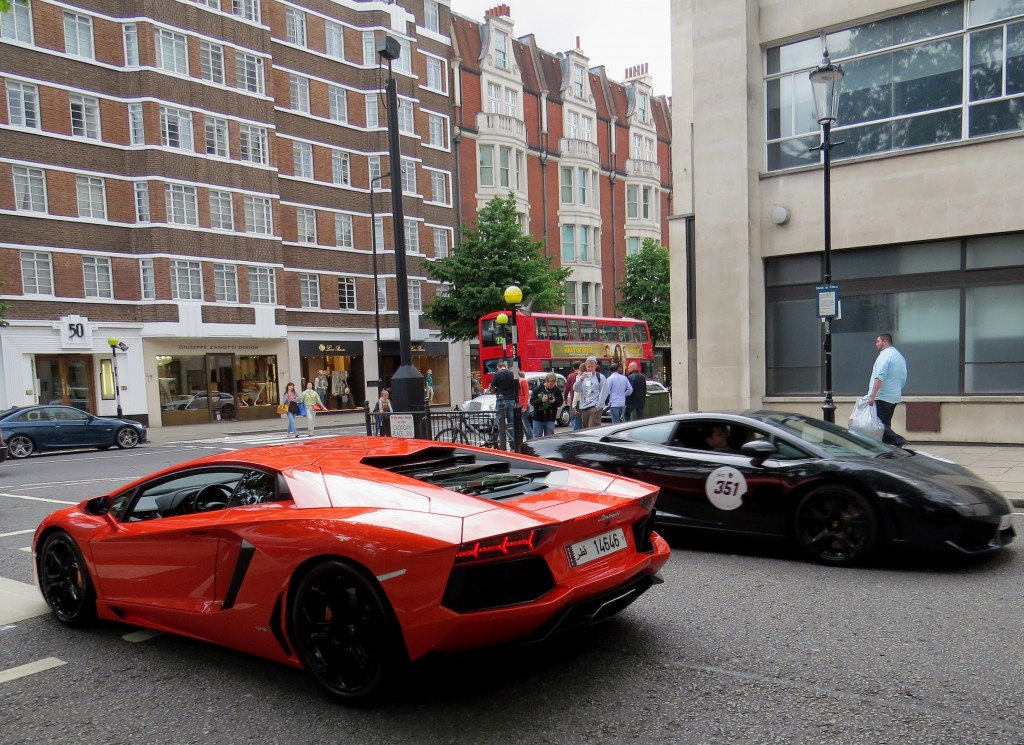 Lamborghini Aventador and Gallardo